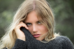 Model, portrait, location